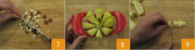 Saccottini mele e cioccolato