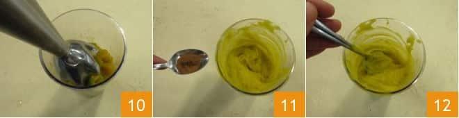 Orzotto con crema e fiori di zucca