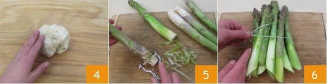 Quiche agli asparagi e mortadella