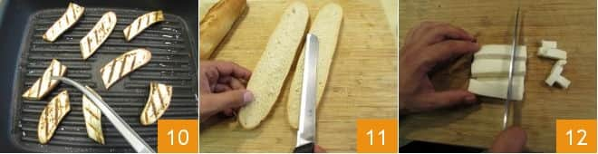 Crostone con verdure e formaggio