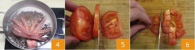 Pasta con polpo e pomodoro
