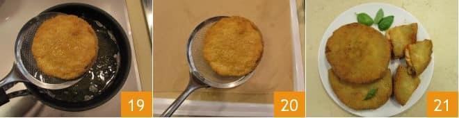 Cotolette di melanzane alla parmigiana