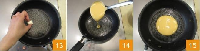 Pancake di patate dolci
