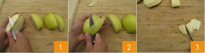 Torta di mele e more senza glutine