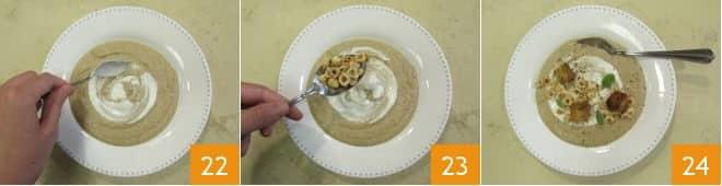 Zuppa di pastinache e nocciole