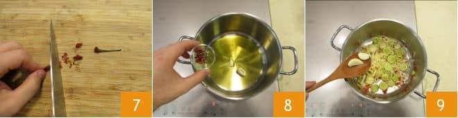 Zuppa di scarole e patate
