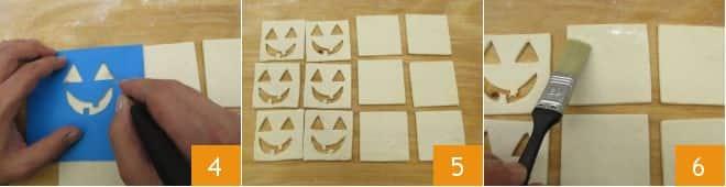 Zucchette di pasta sfoglia