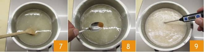 Mele stregate caramellate