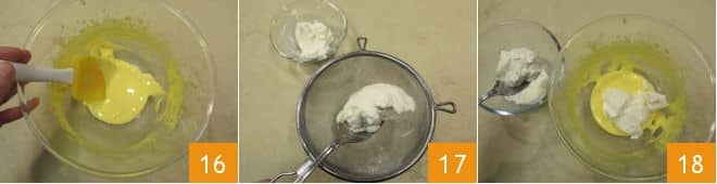 Stella di sfoglia, crema di mascarpone, ricotta e Nutella®