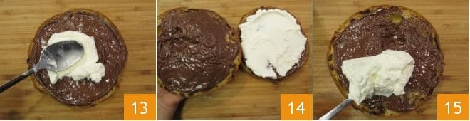 Torta di panettone con Nutella®