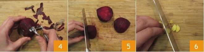 Stufato di rape rosse e lenticchie
