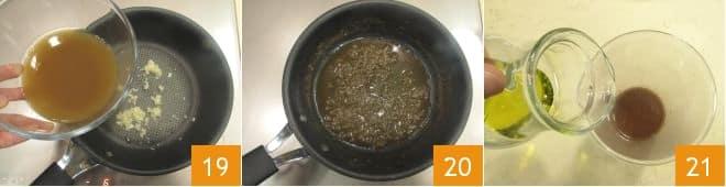 Rosti di lenticchie con rana pescatrice