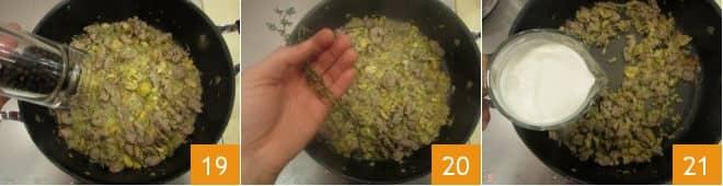 Pasta con ragù di agnello e castagne
