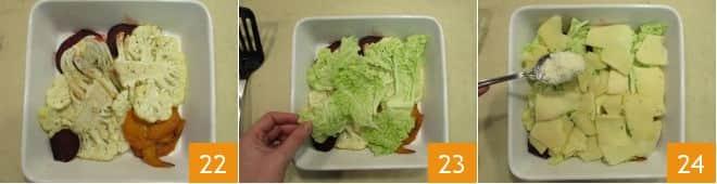 Parmigiana di verdure invernali