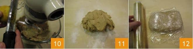 Biscotti al farro e arancia