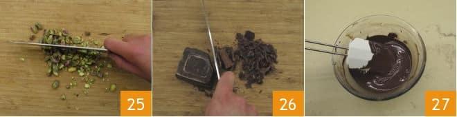 Rotolo al cioccolato e pistacchio