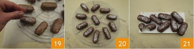 Barrette cocco e cioccolato