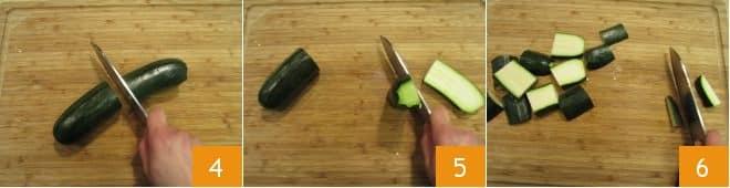 Piadina con verdure gratinate