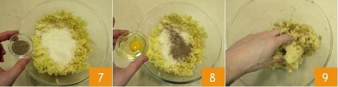 Crocchette cacio e pepe