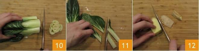 Salmone croccante con insalata di noodles