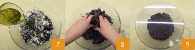 Culurgiones di patate viola