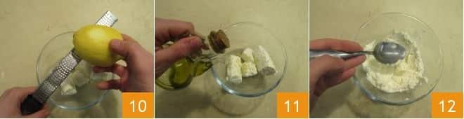 Sigari con caprino e miele al rosmarino