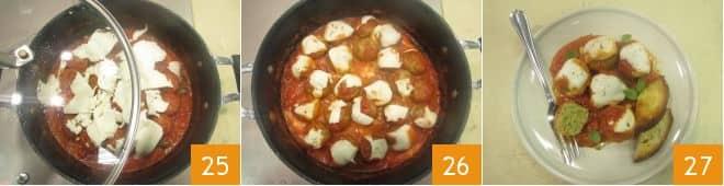 Polpette di zucchine alla pizzaiola