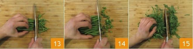 Gnocchi con verdure di stagione e tonno