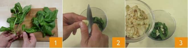 Pasta con pesto e tonno fresco