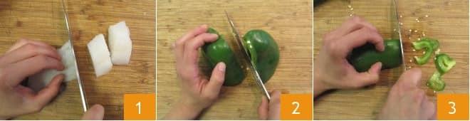 Baccalà ai peperoni