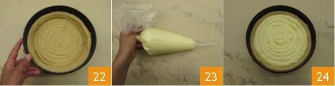 Crostata morbida con crema