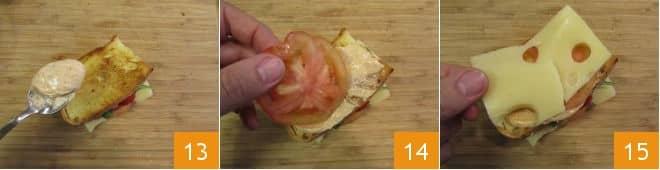 Madame club sandwich