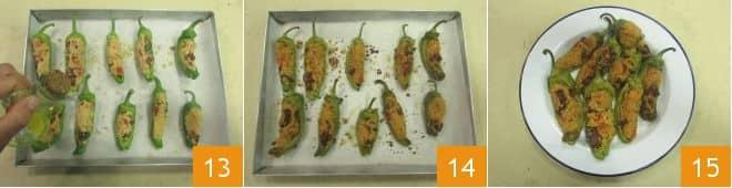 Friggitelli ripieni vegetariani