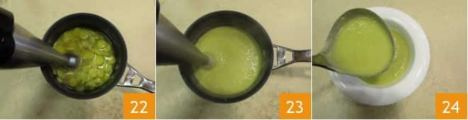 Crema di zucchine trombetta e calamari