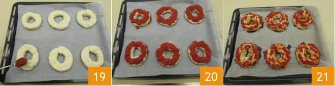 Ciambelle pizza