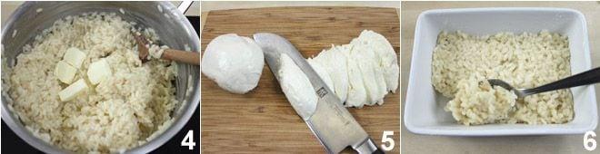 Timballo di riso ai 4 formaggi
