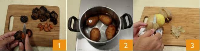 Gnocchi di prugne