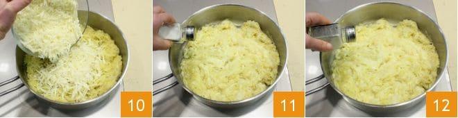 Frico con patate e cipolle