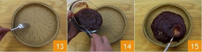 Crostata speziata con confettura di fragole