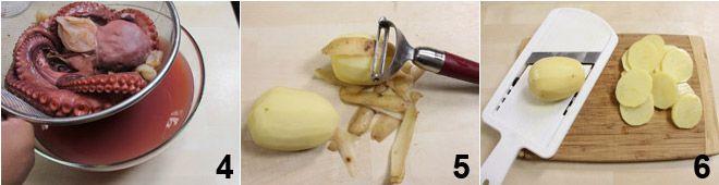 Polpo alla galiziana (pulpo a la gallega)