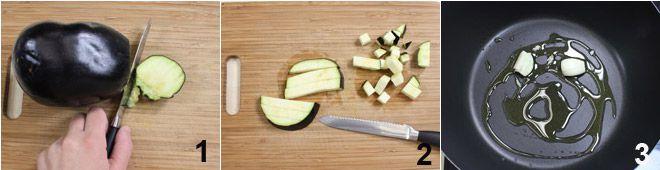 Fregola con le melanzane