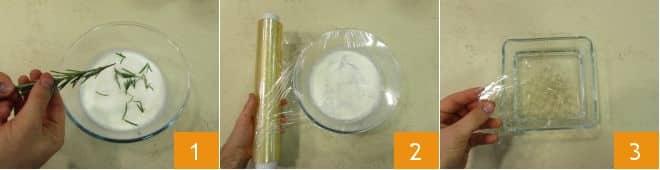 Панна Котта с гранатовым желе