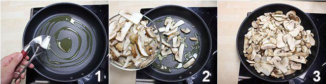 Risotto ai funghi porcini e zafferano