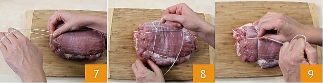 Come legare l'arrosto