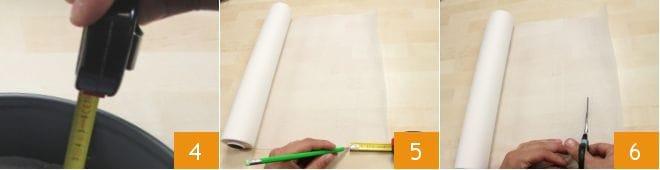 Foderare una tortiera con carta da forno