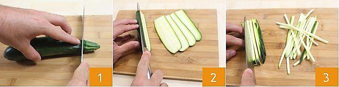 Ricetta come tagliare le verdure la ricetta di - Taglio alla julienne ...