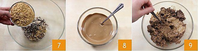 Cuoricini al cioccolato e lamponi