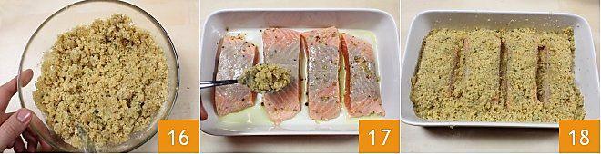 Salmone marinato al forno