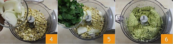 Falafel di fave