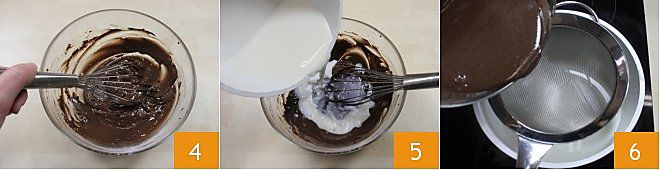 Crepes con crema al Nesquik